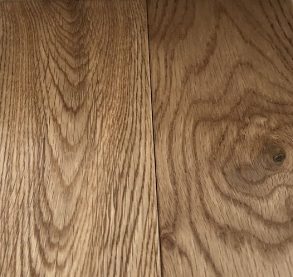 画像1: 100081【人気床材】ウ) 楢ナラ オーク フローリング材 ウレタン塗装品  人気 無垢 床材(長さ1.82m×厚み1.5cm×幅9cm 1束=10枚入=半坪=1.64m2) (1)