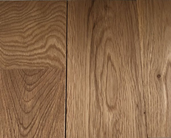 画像1: 100081-2 【人気床材】ウ) 楢ナラ フローリング材 オーク オイル塗装品  人気 無垢 床材(長さ1.82m×厚み1.5cm×幅9cm 1束=10枚入=半坪=1.64m2) (1)